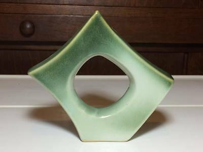 Signed abstract Japanese pottery vase