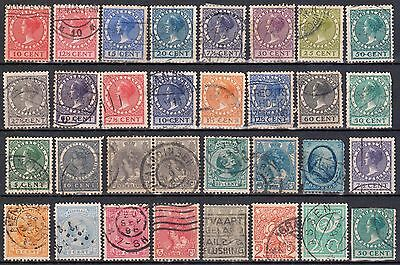 Netherlands  Lot of 32 stamps