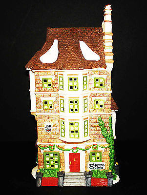 Department 56 Dickens Village Lighted House Nephew Fred's Flat Apartment Mib