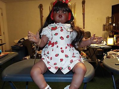 Fayzah Spanos African American Doll (500 Pieces Worldwide) She Is #202 Of 500