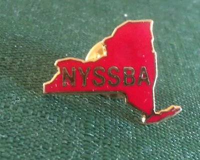 Vintage New York State School Board Association Lapel Pin