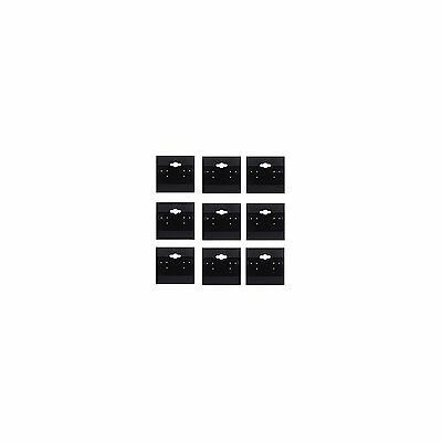 Adorox 2 x 2 Inch (200 Cards)Earring Jewelry Display Hanging Cards Showcase