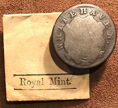 Circa 1700's Great Britain White Haven or Whitehaven R7 or R8 Very Rarely Seen o