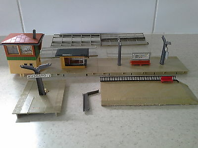 Vintage HO Scale Faller Station and Signal Box Parts/Spares