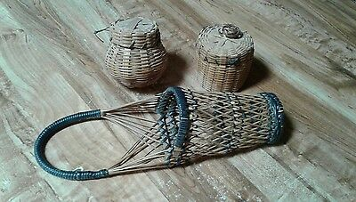 * Vintage* Small Hand Made Basket*