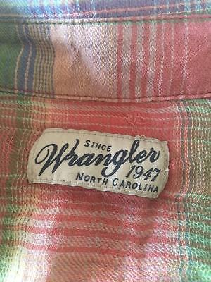 Wrangler  Ladies Cotton Shirt  Size S   Previously Worn   Colorful Top