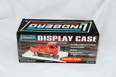 1/24 Single Car Display Cases With Chrome Base