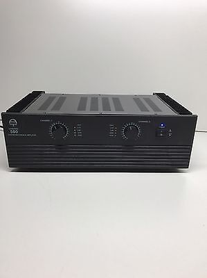 Vintage Audiotrak 500 Stereo Refrence Power Amplifier 2 Channel