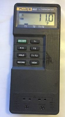 Fluke 50D K/j Thermometer (Used Condition) No Probe