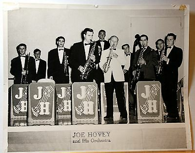 Joe Hovey & Orchestra Jazz band in th 50's Original Vintage 8 X 10  Photograph