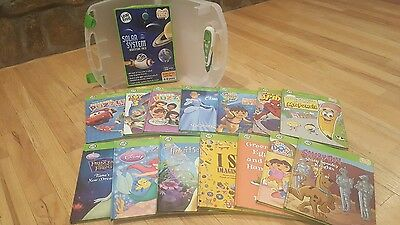 Lot of 15 Books Leap Frog Tag Reader with Case and Tag Pen