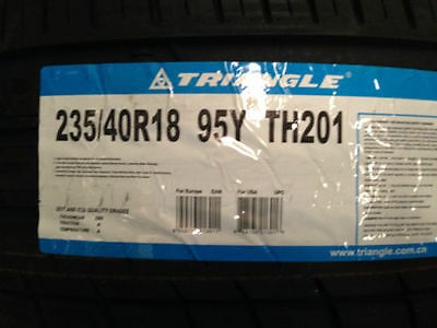 TYRES TRIANGLE 235/40R18 95Y BRAND NEW X 2 Tyres