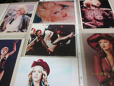 Madonna 8 x 10 Glossy Photo Pack of 7
