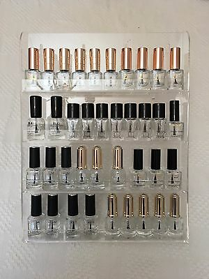 4 Tier Acrylique Vernis à ongles pied supporte approximativement 40 d'Ongle