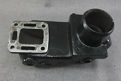 Riser Exhaust for Mercruiser Inline 4 Cyl. with Cast Iron Manifold 76325A2 Riser