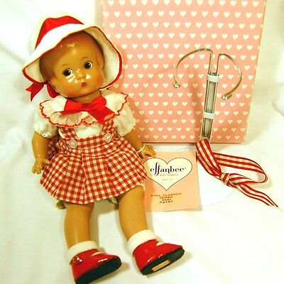 "12"" Effanbee Doll Classics Series V530 PATSY w/ Stand Needs Restrung"