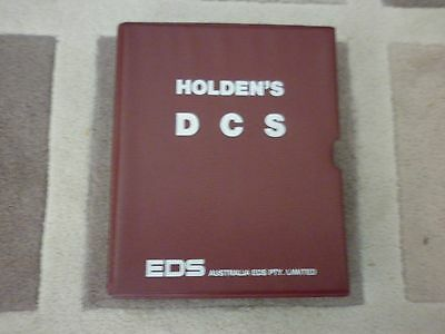 Genuine HOLDEN EDS Electronic Data Systems manual.RARE !!!!