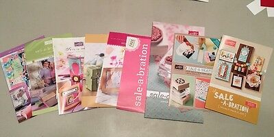 Lot Of 18 Stampin' Up! Retired Mini Catalogs & Sale-a-Bration 2005-2015 New!