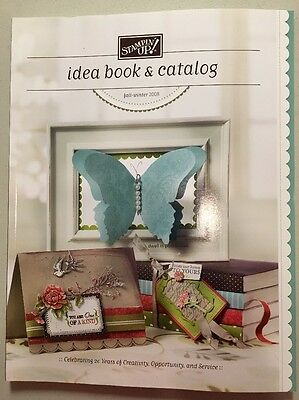 Stampin' Up! Retired IDEA BOOK & CATALOG Fall-Winter 2008 Rubber Stamp Cards