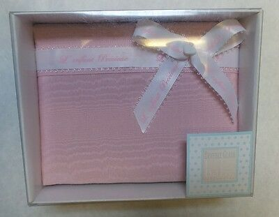 Beverly Clark 200SP 4x6 Inch Fabric Covered Baby Album - Pink - Holds 48 Photos
