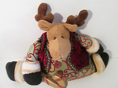 Reindeer Door Stopper by Foreside Christmas Decoration