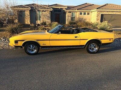 1973 Ford Mustang  1973 Ford Mustang convertible