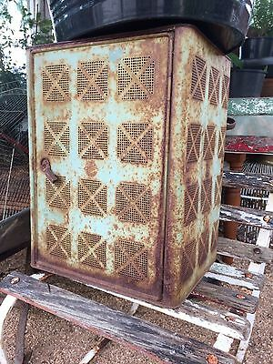 Vintage Meat Safe Metal Country Style