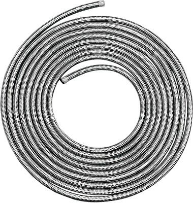 Drag Specialties DS-096614 Stainless Steel Braided Hose 3/8in x 25ft