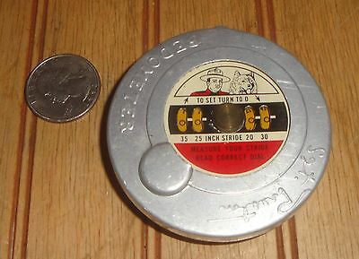 Vintage Official 1954 Sgt Preston Pedometer Quaker Puffed Wheat Cereal Premium
