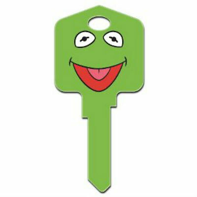 "THE MUPPETS "" KERMIT THE FROG & MISS PIGGY  "" REVERSABLE House Key Blank  KW1"