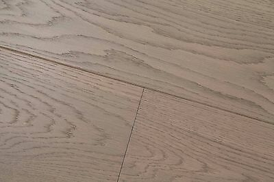 Trade Choice Grey Engineered Oak Brushed and Oiled  20/6mm x 190mm Wood Flooring