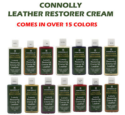 Connolly Leather Restoring Cream 150Ml - Over 16 Colors - Au Seller