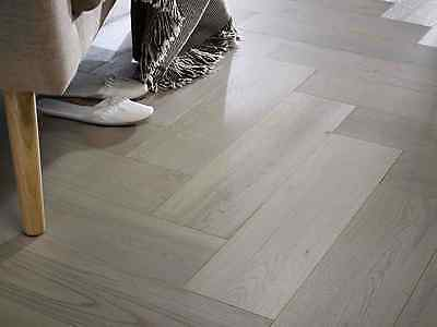 Parquet Engineered Grey Oak 14/3mm x 150mm Brushed and Oiled Wood Flooring