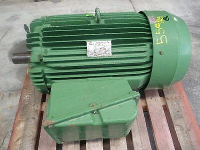 Toshiba 100Hp 3 Phase Electric Motor/ 1475Rpm