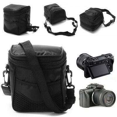 Digital Camera Waterproof Case Shoulder Bag For Nikon SLR DSLR Camera Black new