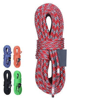 60M XINDA Climbing Rappelling Rope Auxiliary Rope Static Rope Safety Rescue