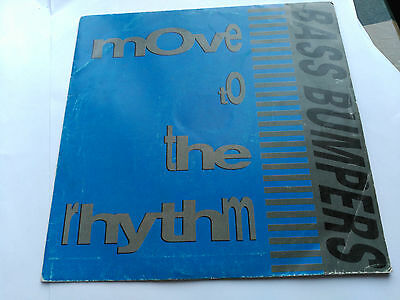 Single Promo Bass Bumpers - Move To The Rhythm - Boy Records Spain 1992 Vg+