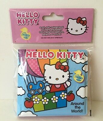 Hello Kitty Bath Time Book-Around The World