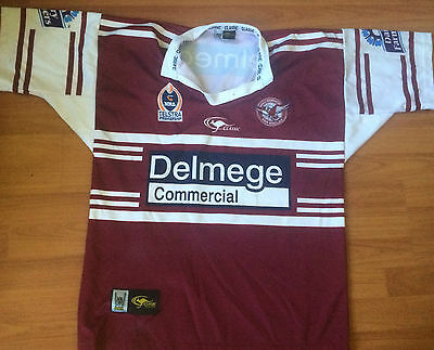 NRL Manly Sea Eagles Jersey  (size XL)