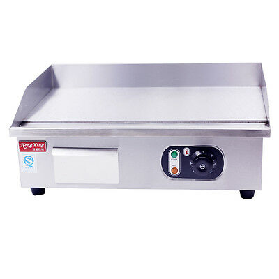 NEW Electric Griddle Grill BBQ Hot Plate Commercial Stainless Steel