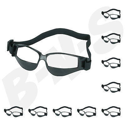 10 PACK Heads Up Basketball DRIBBLE Dribbling Specs GOGGLES Glasses TRAINING AID