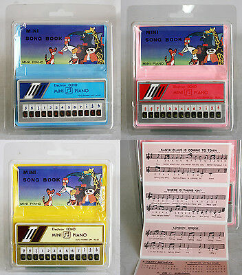 Very Rare Vintage 80's Echo Mini Piano With Song Book Battery Taiwan New Mip !