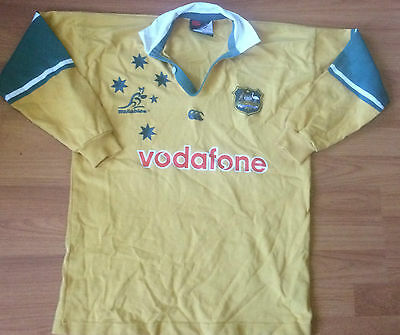 Rugby union Wallabies Jersey (size 12)