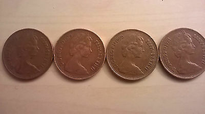 1978 1979 1980 1981 2P New Pence