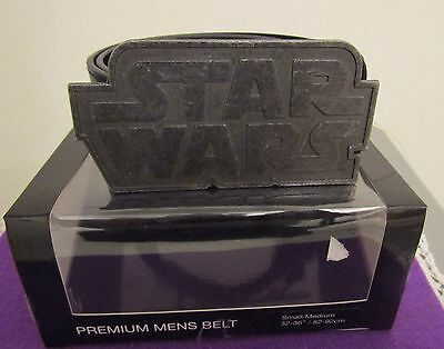 Star Wars Leather Belt With Metal Buckle