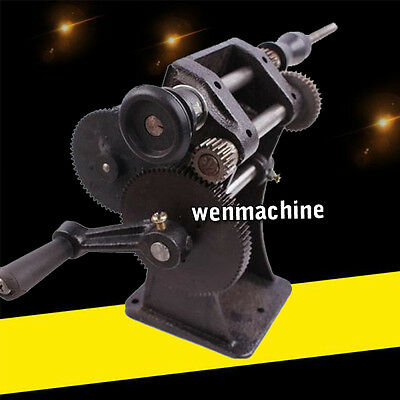 Manual hand dualpurpose Coil counting and winding machine winder coiler