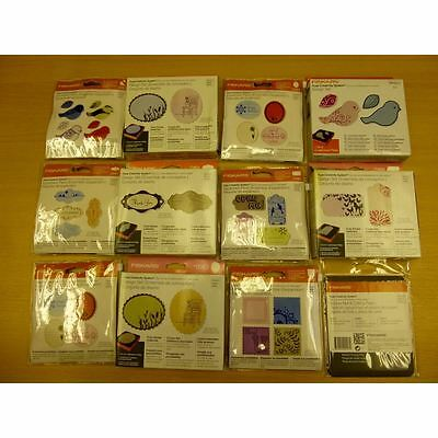 Hobbycraft Fiskars Fuse Thick Die Cutting Dies With Cutting Plate Kit 11 Pack