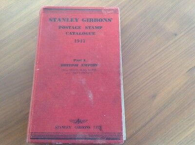 Stanley Gibbons 1947 Stamp Catalogue Part 1 - British Empire