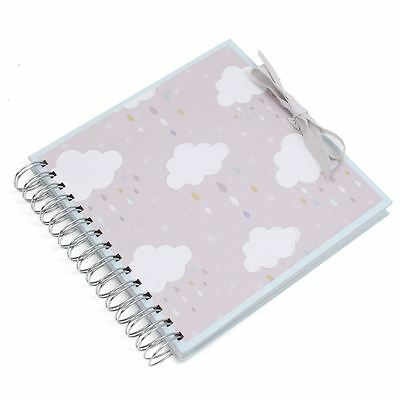 Hobbycraft Spiral Bound New Baby Scrapbook Album Gift 8 x 8 Inches
