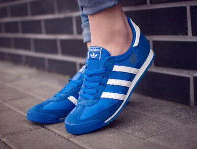new concept cdae7 5f71a Adidas Dragon Og Bb2486 Damenkinder Sneakers Sport Turnschuhe Laufen Blau  Top